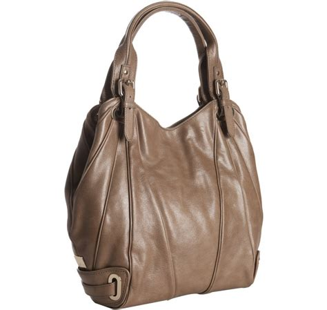 Kooba Tote Bag by Kooba Mocha Leather Seamed Tote Bag In Brown