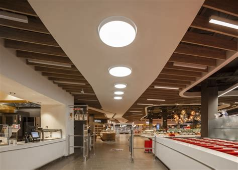 Retail Ceiling Design by Spar Supermarket Flagship Store By Lab5 Architects