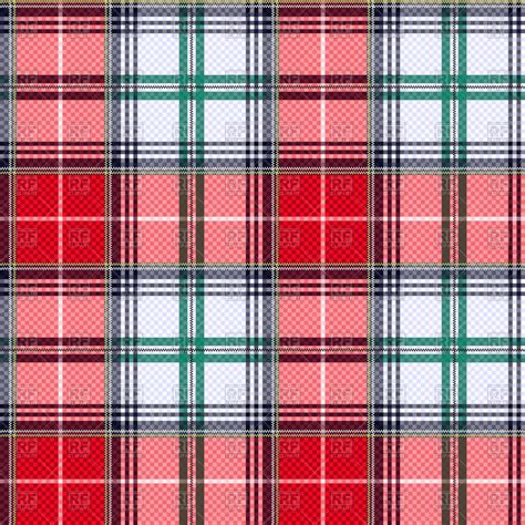 plaid design seamless pattern red tartan plaid royalty free vector