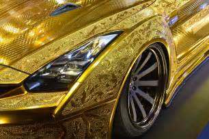 Car In Dubai Price Nissan Golden Car At A Price Of 3 Million Aed In