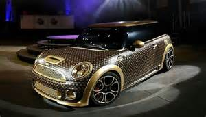 Souped Up Mini Cooper Meet The Souped Up Louis Vuitton Inspired Works Mini