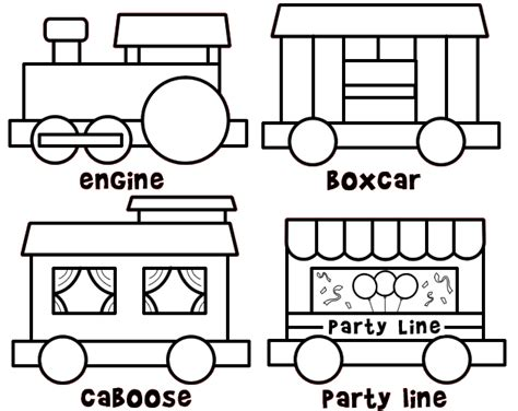 templates for railway website color and build a train cute site too free printables