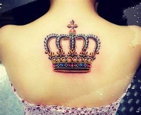 queen crown tattoo 48 crown tattoo ideas we love pretty designs