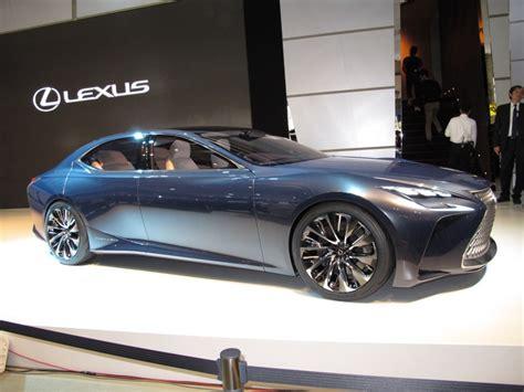 lexus lf fc lexus lf fc concept previews next ls fuel cell future