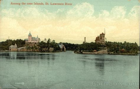 meanderings among a thousand islands or an account among the 1000 islands st river thousand