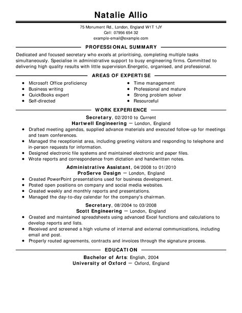 resumes exles free resume exles by industry title livecareer