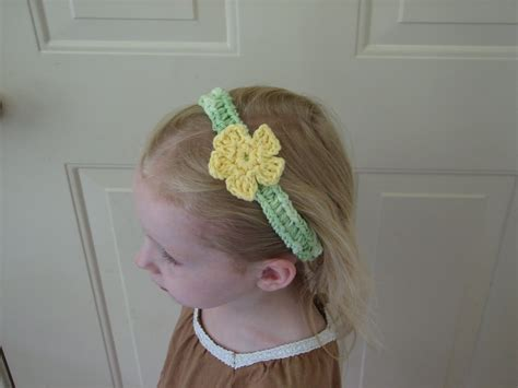 free crochet pattern flowers headbands flower headband free crochet pattern ambassador