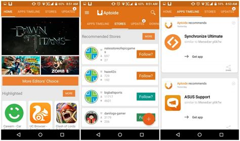 aptoide google play store 8 alternatives to google play store techwiser