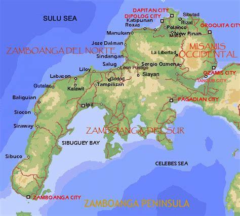 zamboanga haritasi
