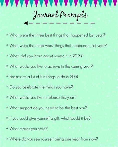 new year topic ideas this enchanted pixie journal prompts for a new year