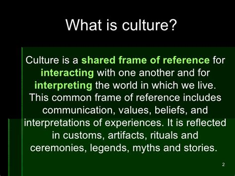 what is a one creating a culture of learning