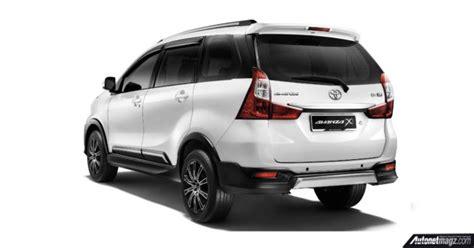 Lu Belakang Toyota Avanza toyota avanza x ikuti tren kekinian mpv crossover