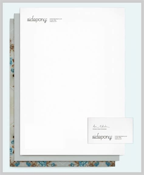 Commercial Credit Letterhead 30 Sle Company Letterhead Design Pieces For Inspiration Uprinting
