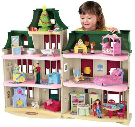 loving family doll house fisher price loving family holidays home 69 99 from 150