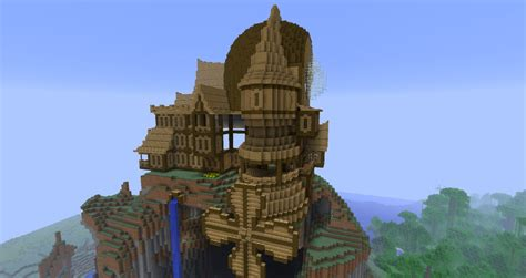 wooden house in minecraft my little fantasy wooden house on survival minecraft project