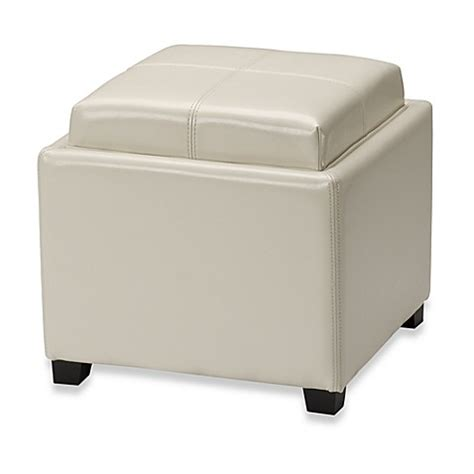 bed bath beyond ottoman buy leather storage ottomans from bed bath beyond