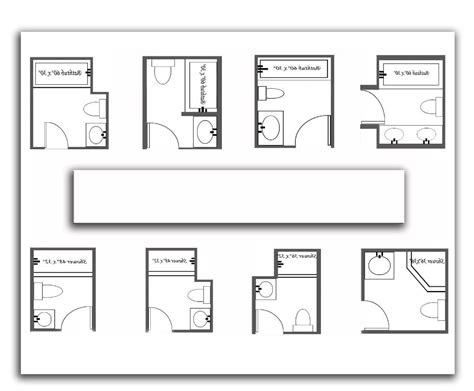 bathroom sizes dimensions dimensions of a small bathroom