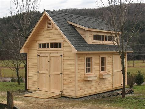 garages by custom made wooden buildings vermont sheds and barns custom built on site built