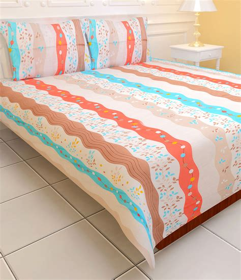 double bed sheets buy royal home pack of 7 designer bedsheets 7bs1 online