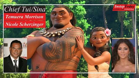 film moana cast moana movie characters and voice cast behind the voice