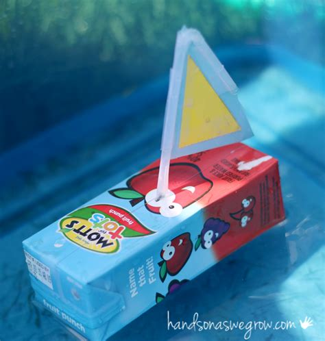 boat juice boat craft for kids to make from juice boxes that really