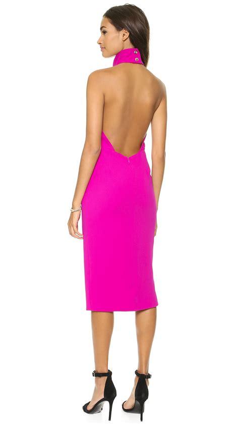 Kinanti Midi Dress Pink Nursingwear bec bridge iodine midi dress pink in pink lyst