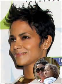 back view of halle berry hair back view of halle berry pixie haircut short hairstyle 2013