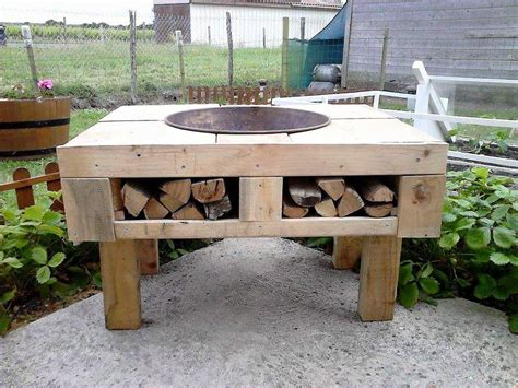 diy firepit table the best diy concrete pit pit design ideas