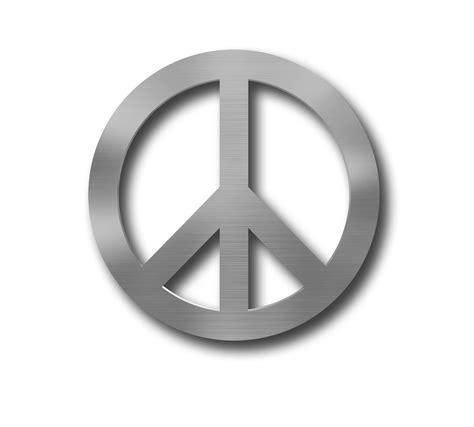 Peace Symbol Wall peace symbol metal wall circle wall peace sign