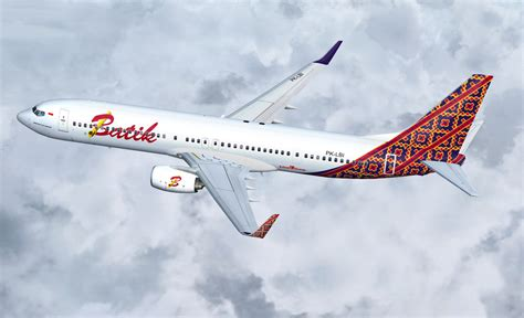 Batik Kebaya Air Lines 2 by Gambar Transportasi Pesawat Terbang Angkutan