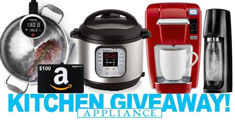 Appliance Giveaway - enter the group blog kitchen appliance giveaway now