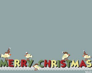 merry garland template free wreath powerpoint template