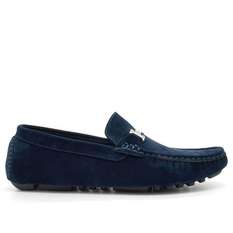 loafers uk mens faux suede casual loafers moccasins slip on driving