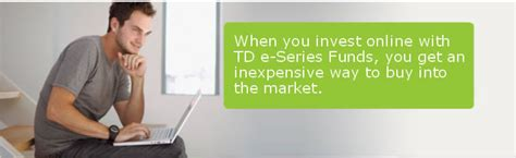 td comfort funds td canada trust investing mutual funds td e series