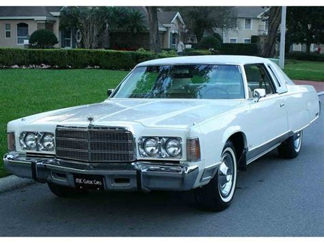 Chrysler New Yorker by 1975 Chrysler New Yorker For Sale Classiccars Cc