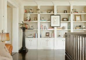 How To Build A Bookcase With Glass Doors Built In Bookshelves Transitional Entrance Foyer