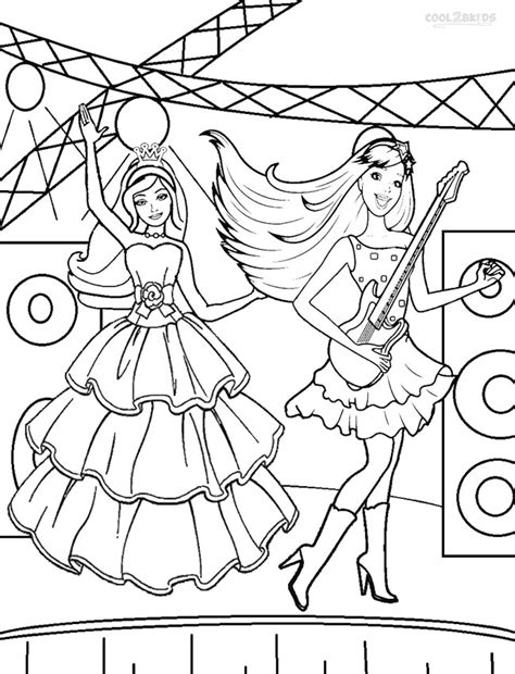 printable pop star coloring pages printable barbie princess coloring pages for kids cool2bkids