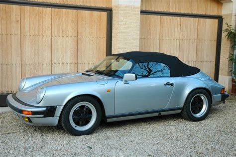 1989 porsche speedster for sale 1989 porsche 911 speedster narrow body german cars for