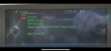 latest   sat nav update  bmw  nbt