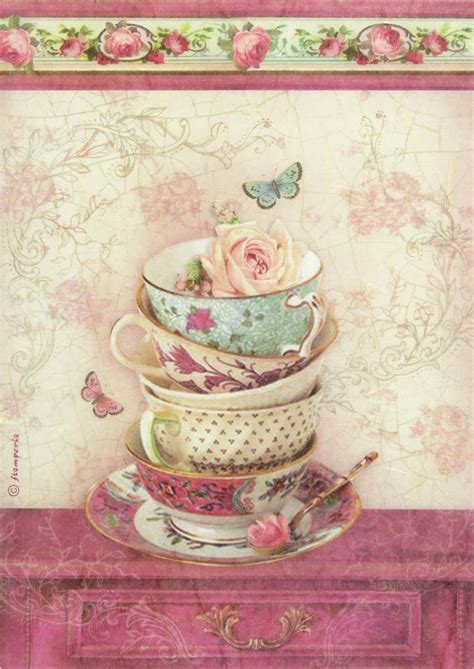 Paper Decoupage Ideas - ricepaper decoupage paper scrapbooking sheets small cup