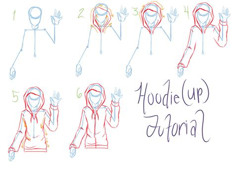 doodle drawing tutorial hoodie tutorial requested by reigodric on deviantart