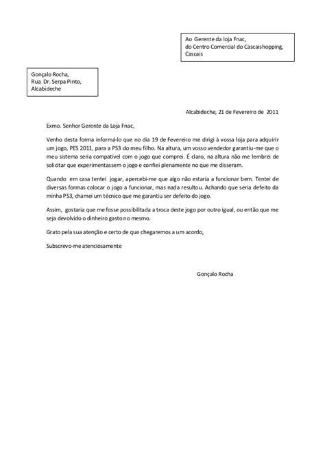 carta formal em italiano lp exemplo de uma carta comercial