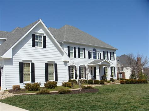 white siding house white house siding hardie siding and trim in arctic white portico build and window