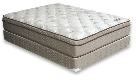 Queen Size Pillow Top Bed | queen size 13 quot euro pillow top foam encased dreamax mattress