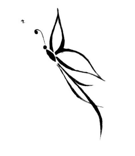 simple tattoo logo amazing tribal butterfly tattoo design small and simple