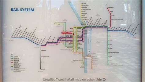 light rail station near me new official map trimet max light rail portland