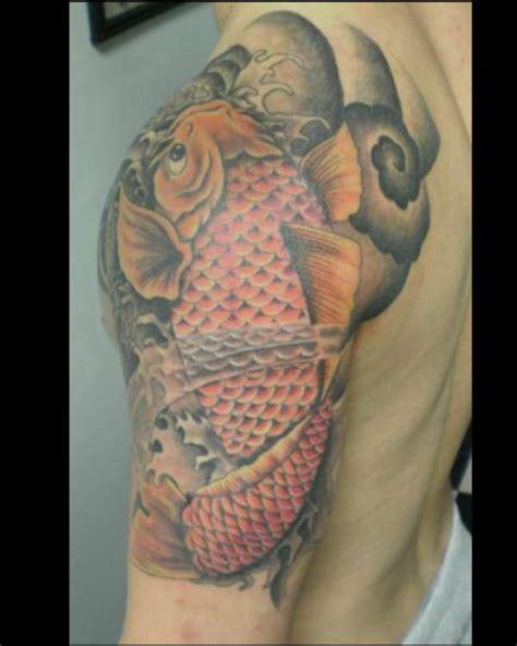 tattoo hand koi koi fish free hand tattoo