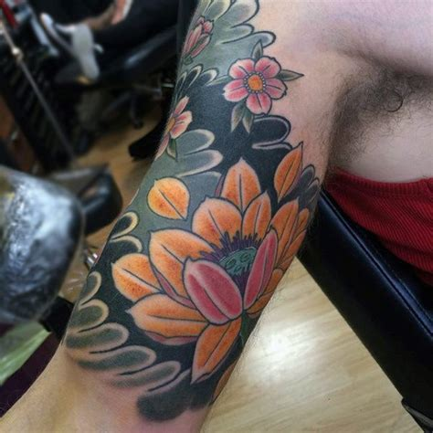 quarter sized tattoo cover up 70 quarter sleeve tattoo designs for men masculine ink ideas