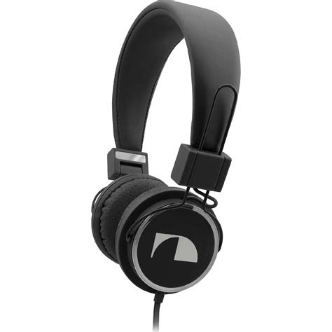 Headset Nakamichi nakamichi nk 850 nk850 fashion headphones black