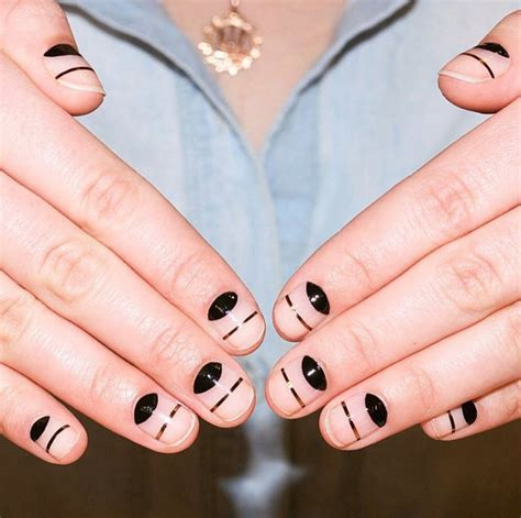Easy Nail Styles by New Nail Design Trends For 2016 Instyle